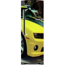 Adesivo Geladeira Camaro Amarelo # 04 (side By Side)