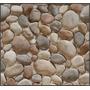 Papel De Parede Adesivo Pedras - Bobina 1,0 X 3,0mt = 03 M2