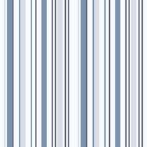 Papel De Parede - Listras Azul (10 Metros X 52cm) Bobinex