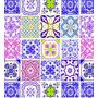 Papel Adesivo Vinil Azulejos 100130 45cmx10m Lavável