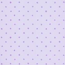 Papel De Parede - Bolinhas Lilás (10 Metros X 52cm) Bobinex