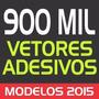 900,000 Vetores - Adesivos Decorativos, Sua Gráfica Completa