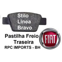 Pastilha Freio Traseira Stilo Linea Bravo Fiat Fras-le Bosch
