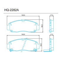 Jogo De Pastilha Dianteira Honda Civic 2012 Em Diante [ Sist