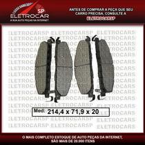 Pastilha Dianteira Da Dodge Ram 2500 4x4 2009 --->