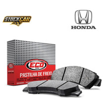 Pastilha Freio Ecopads Diant Honda Civic/accord Eco1414 Rs1