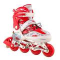 Patins Roller Skate Inline Dsr Abec7 + Ajustável + Roda Led!