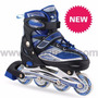 Patins Roller Profissional Chassis Alumínio Abec-7 Rodas Gel