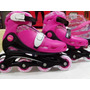 Patins In-line Rosa 34/37 Belfix