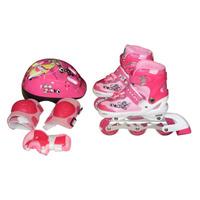 Super Patins Infant Roller Inline Roda Led Gel Dsr Exclusivo