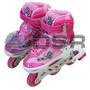 Super Patins Infantil Inline Roller Roda Gel Dsr - Exclusivo