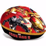 Capacete Infantil Para Patins Ou Bike Marvel Iron Man 3 Dtc
