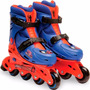 Patins In Line + Capacete Spider Man Dtc - (29 Ao 32)