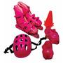 Kit 3 Super Kit Radical Patins Sports Completo + Proteção