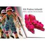 Kit 2 Super Kit Radical Patins Sports Completo + Proteção