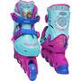 Patins Frozen Com Kit De Proteção Dtc