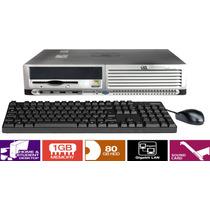 Cpu Mini Desktop Hp Compaq Dc7600 Hd 80gb 1gb Em12x S/ Juros