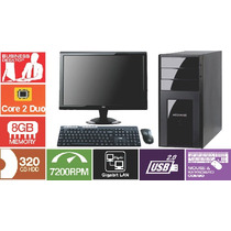 Computador Core 2 Duo 8400 3.0 Ghz 8 Giga Hd 320 Lcd 18.5