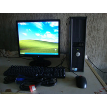 Pc Dell Optiplex Gx620, Intel P. D, Hd 80, 1gb/lcd 17+etc
