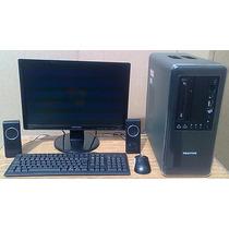 Dual Core Positivo Hd250 Memória 2 Gigas Monitor Lcd 19 Dvd