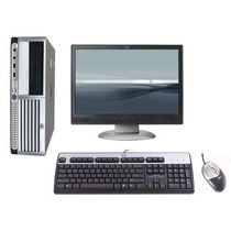 Computador Hp Mini Cpu 2gb Monitor Lcd 17