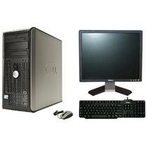 Computador Dell Optiplex 760 Core2duo Com Monitor Dell 17