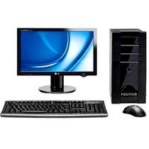 Computador Core 2 Duo Wifi+monitor 17 Wid+hd 250gb+2gb Ram!