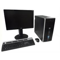 Computador Usado Hp 6000 + Monitor Lcd 19 Teclado E Mouse