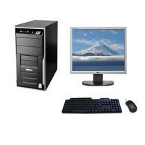 Computador E Monitor 17 Wifi + Teclado + Mouse + Garantia