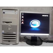 Computador Gigabyte Com Monitor Lcd Lg 15
