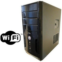 Cpu Dual Core 4 Giga 500 Hd Wi Fi Dvd Garantia 1 Ano Novo