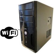 Cpu Core 2 Duo 4gb Hd 500gb Wi-fi Dvd Rw Garantia 1 Ano Novo