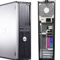 Cpu Dell Optiplex 745 Dual Core 4gb Hd 160gb Com Garantia