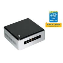 Nuc Intel Core I3-5010u 2.10ghz Placa Mae Gabinete Fonte
