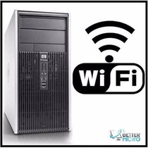 Pc Cpu Hp Dc5750 Dual Core Amd X2 / Hd 80 Gb / 2 Gb / Wi Fi
