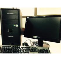 Pc Positivo D100 Intel Celeron 3 Gb C/ Monitor Lcd Aoc 1619