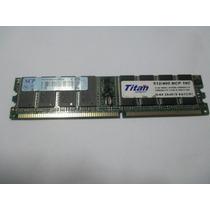 Memoria Ddr 400mhz Ram 512mb Titan Original