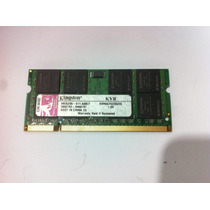Memória Notebook 2gb Ddr2 667 Kingston - Apacer