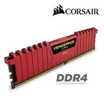 Memória Corsair Vengeance Lpx Ddr4 16gb (2x8gb) 3000mhz Red