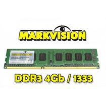 Memória 4gb Ddr3 1333mhz Markvision 1333 Pc Desktop