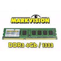 Memória 4gb Ddr3 Markvision 1333mhz Desktop - Pronta Entrega