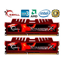 Kit Memórias G.skill Ripjaws X 8gb (2x4gb) Ddr3 1600mhz Cl9