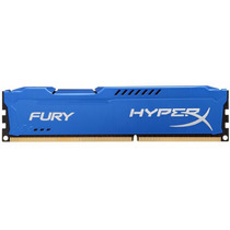 Memória Gamer 8gb Ddr3 1600mhz Kingston Hyperx Fury Blue