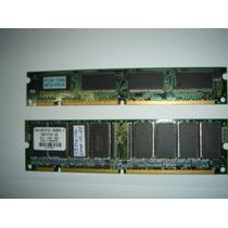Memória Dimm 32 E 64mb - 1 Peça De Cada - Usadas