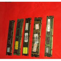 Lote Memoria Pc 133 E Pc 100 5 Peças Veja Anuncio