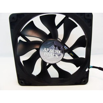 Cooler Fan Ventoinha Akasa Apache Black 12cm Pc Gamer