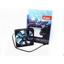 Cooler Fan Ventoinha Akasa Piranha 12 Cm Gabinete Gamer