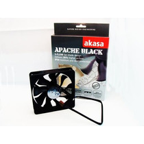 Cooler Fan Ventoinha Akasa Apache Black 12cm 12v Pc Gamer