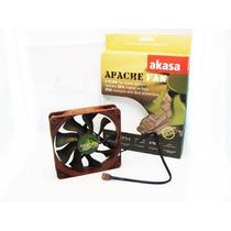 Cooler Fan Ventoinha Akasa Apache 12cm 12v Gabinete Gamer