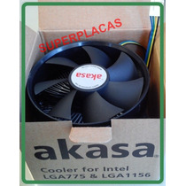 Cooler Fan Akasa P/ Processador Intel 775 1155 1156